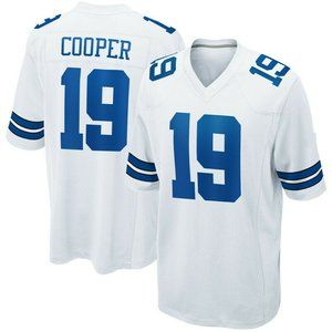 #19 Cooper Dallas Cowboys Nike NFL Limited Jersey